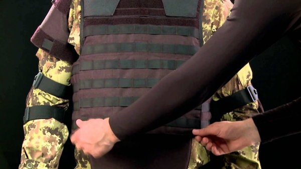 Военные из Испании испытали бронежилет из графена