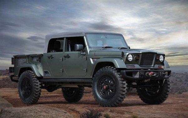 В сети случайно раскрыли подробности о новом пикапе от Jeep