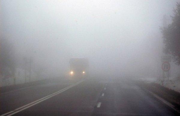 «Опасно для жизни»: На видео показали жуткий туман на М4 «Дон»