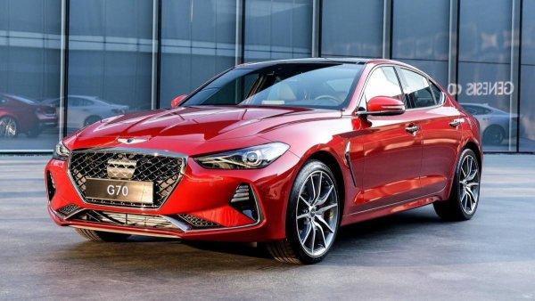 В Калининграде стартовало производство Genesis G70