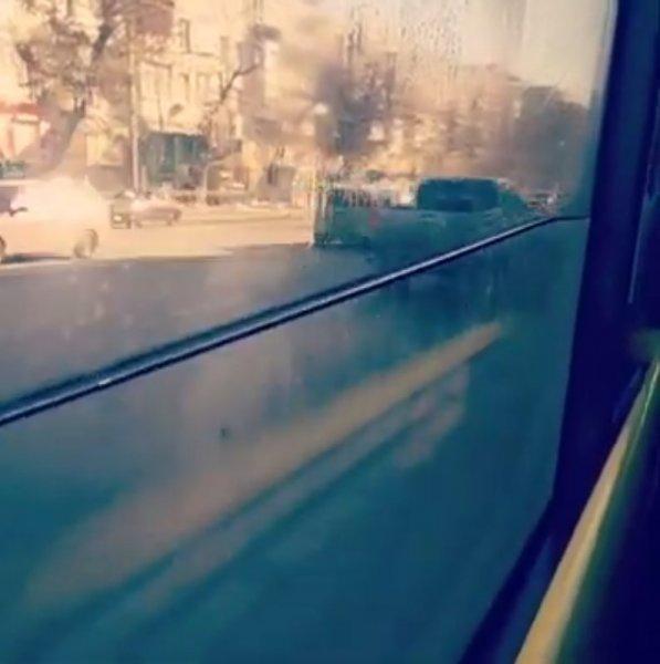 В Ростове вышел на линию автобус со встроенным аквариумом