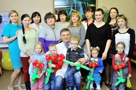 В Тюменской области перинатальный центр устроил праздник для детей