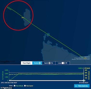 Пилот пассажирского самолета уснул и забыл приземлиться