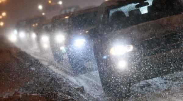Движение автомобилей в Воронеже застопорено по причине осадков