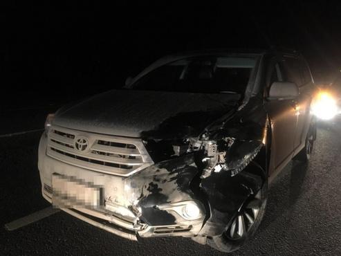 В Тюменской области мужчина угнал и разбил чужой внедорожник Toyota Highlander