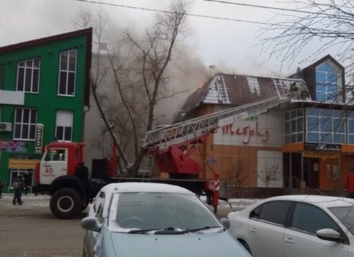 В Тюмени загорелся очередной ресторан