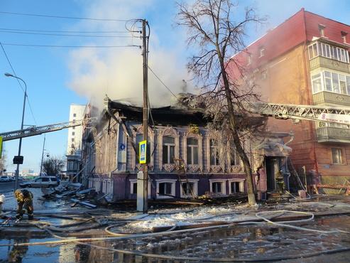 Памятники архитектуры уничтожают огонь и безответственность чиновников