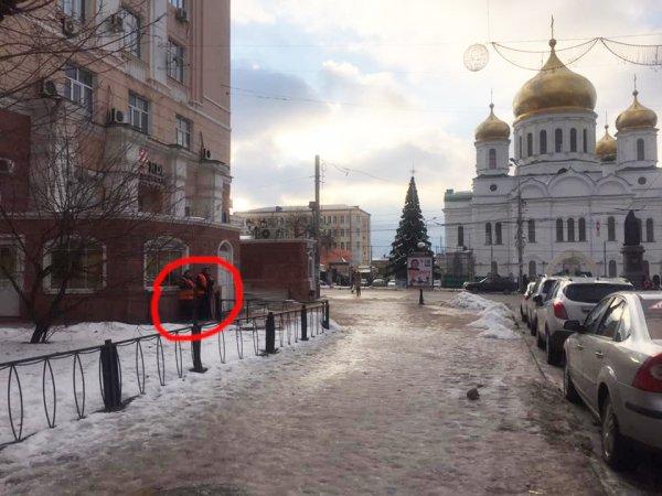 Жители Ростова «поблагодарили» мэрию за самый большой природный каток