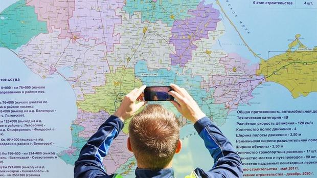 В России будут наказывать за неверное указание Крыма на картах