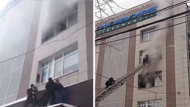 Спасенная из горящего офиса женщина родила в больнице, где ей оказывали помощь