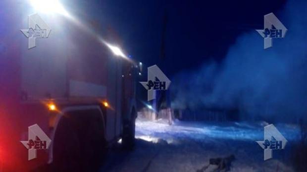 Трое детей погибли в результате пожара в Курганской области