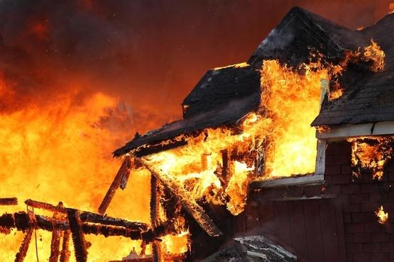 Выяснилось, сколько пожаров произошло в Тюменской области во время праздничных выходных