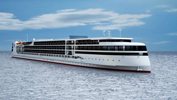 VIP-класса: К запуску готовится первый российский круизный лайнер