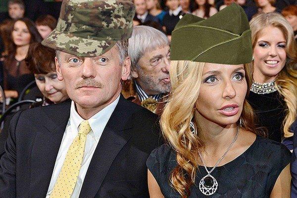 «Агент Навка»: Жена Пескова за время жизни в США могла быть завербована ЦРУ