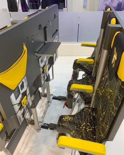 «Осталось только поручни прикрутить»: В самолётах могут появиться «почти стоячие» места