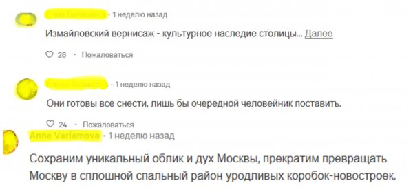 «Не дадим Фениксу сгореть»: Россияне подписывают петицию против сноса Вернисажа в Измайлово