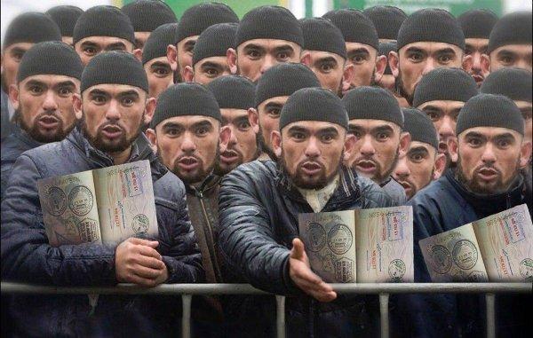 Виза для Средней Азии —  поток мигрантов в Россию: к чему приведёт инициатива среднеазиатских государств?