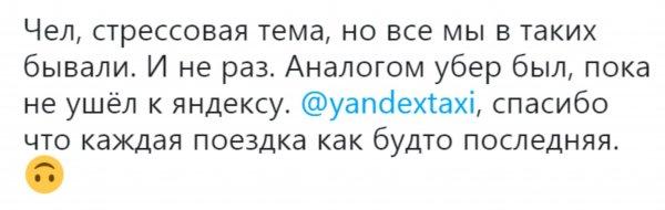 Дикое шоу с пауком: Водитель Яндекс.Такси возмутил пассажира неадекватным поведением